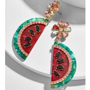 BaubleBar Watermelon Drop Earrings